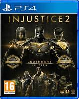 Injustice 2 - Legendary Edition For Playstation PS4 (New & Sealed)