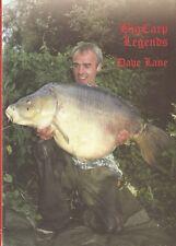 LANE DAVE COARSE FISHING BOOK BIG CARP LEGENDS series no. 5 hardback BARGAIN new