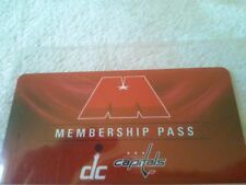 This is a brand new 2014-15 Washington Capitals Membership pass