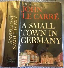 John Le Carre, - A SMALL TOWN IN GERMANY - US 1st/1st SIGNED BP not inscribed!