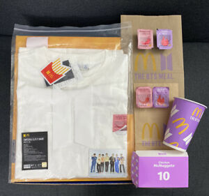 McDonald's BTS Sweet Chili Sauce Shirt XXL Meal Special Packaging Photo Card