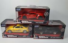 3x Lykan Leon Dom Fast And Furious Metal 1:32 Cars (Charger RT GT-R Hyperspoort)