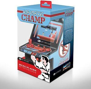 Karate Champ My Arcade Micro Player Mini Cabinato Arcade Schermo Retroilluminato