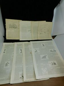 Amazing Collection of early 1900's Baseball Themed Newspapers Articles Ephemera