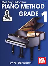 MEL BAY'S MODERN PIANO METHOD-GRADE 1 MUSIC BOOK/ONLINE AUDIO-BRAND NEW ON SALE!