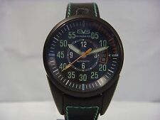 BOMBERG AUTOMATIC BLACK DIAL DATE BLACK STRAP MEN'S WATCH NS39APBA.BAO.1.LBA NEW