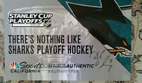 Authentic Fan NHL San Jose Sharks Cheer Card Signed by Douglas Murray