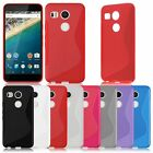 Silicone Flexible S-Line Soft GEL TPU Rubber Case Cover For LG Google Nexus 5X