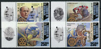 Djibouti Rotary International Stamps 2020 MNH Paul Harris Famous People 4v Set