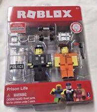 Roblox 2017 Series 2 Prison Life 2 Figure Pack +  Unused Virtual Code New