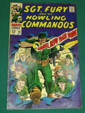 MARVEL COMICS GROUP SGT. FURY AND HIS HOWLING COMMANDOS #56 7/1968 AWESOME COPY!