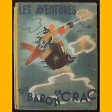 LES AVENTURES DU BARON DE CRAC Pierre Leroy 1950