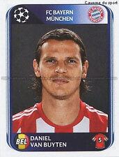N°282 VAN BUYTEN # BAYERN MUNCHEN UEFA CHAMPIONS LEAGUE 2011 STICKER PANINI