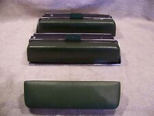1971 CHRYSLER IMPERIAL ARM RESTS W/ BEZELS GREEN 2 DR CROWN COUPE LEBARON