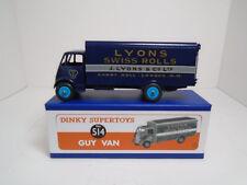 DINKY SUPERTOYS MECCANO.#514G GUY OTTER VAN SWISS ROLLS  RESTORED/MINT.RAREW/BOX