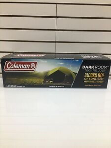 Coleman Dark Room Sundome Tent 4 Person