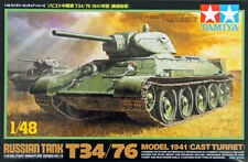 Tamiya 32515 1/48 scale  Russian Tank T34/76 Model 1941 (Cast Turret) from Japan