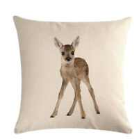 Throw Pillow Covers Cat Puppy Cases Animal Pillowcase Cotton Linen Cushion Cover