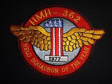 "US Marines HMM-362 ""Ugly Angels"" HELO SQUADRON OF THE YEAR 1977 Patch"