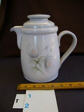 DENBY   Whisper Pattern  Smaller Tea or Coffee Pot with Lid  in Stoneware