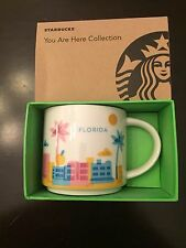 Florida You Are Here (YAH) Starbucks Mug. Original and NWT NIB