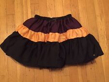 JUICY COUTURE GIRLS BLACKBERRY COLOR BLOCK TIER SKIRT ORG. $88.00 SIZE 8/10 BNWT