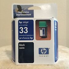 HP 33 Black Inkjet Print Cartridges 51633m - New - Sealed - Genuine