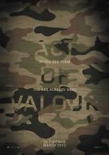 ACT OF VALOR Movie POSTER PRINT B 27x40 Alexander Asefa Drea Castro Jason Cottle