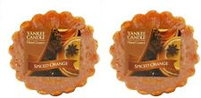 2 x yankee candle spiced orange wax melts tarts Fragrance scent