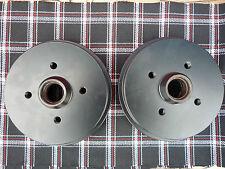 Bremstrommeln VW Golf 1 GTI schwarz gepulvert Jetta Cabrio Scirocco Pirelli