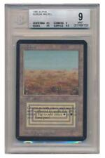 Scrubland - Beckett Mint 9 - 7158 (Alpha) Magic Card MTG Magic Gathering 2B3