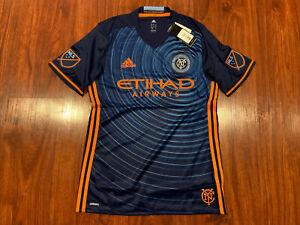 2016 Adidas Men's New York City FC NYCFC Soccer Jersey Medium M Authentic Player