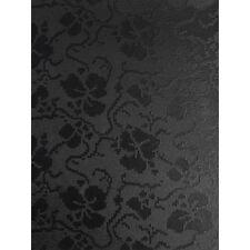 10 Carta A4 TAPESTRY NERO SANGALLO design floreale in rilievo 300gsm Cardstock