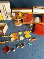 Vintage TOMY Smaller Homes Dollhouse Furniture Kitchen Living Room & Accessories