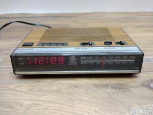Vintage Clock Radio General Electric Model 7-4624B GE AM/FM Digital AlarmWorks