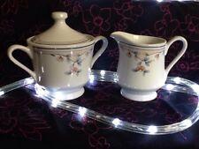 Princess House Heritage Blossom Sugar & Cream Serving Set