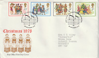 22 NOVEMBER 1978 CHRISTMAS POST OFFICE FIRST DAY COVER BUREAU SHS (b)