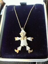 9 Carat Yellow Gold Mixed Themes Fine Necklaces & Pendants