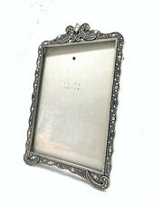 "Carr Frames Picture Photo Frame 4.5"" x 6.5"" Metal with Genuine Crystals"
