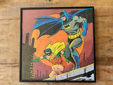 Batman and Robin Jigsaw Puzzle, 1973, Framed