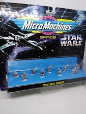VINTAGE GALOOB- STAR WARS MICROMACHINES# 66080 ECHO BASE TROOPS NIP