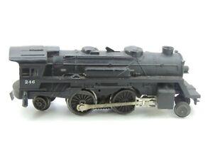 Lionel No. 246 Powered Steam Locomotive  2-4-2 wheelbase no tender O gauge.