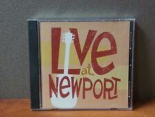 Live At Newport   Various Artists   CD  LIKE NEW   DB1560