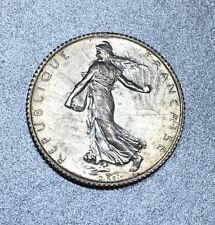 FRANCE 1 FRANC 1911 SEMEUSE ARGENT état SPL63 ( BRILLANT de FRAPPE ) MAGNIFIQUE.
