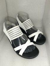 Skechers Women's Rumblers Sci-Fi White Memory Foam Cushioned Sandals Size 8