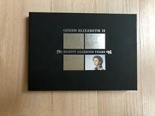 2006 Queen's 80th Birthday 'Silver Stamps' Commemorative Document.