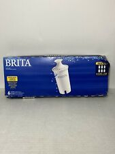 6 Pack Brita Standard Replacement Filters One Year Supply New