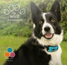 The Woof Whisperer Dog Bark Collar - No Shock Humane Anti Barking Vibrating