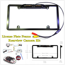 NTSC Infrared Night Vision HD Rearview Camera Kit For Car License Plate Frame