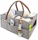 Baby Diaper Caddy Organizer Portable Changing Table Pads Nursery Storage Gifts